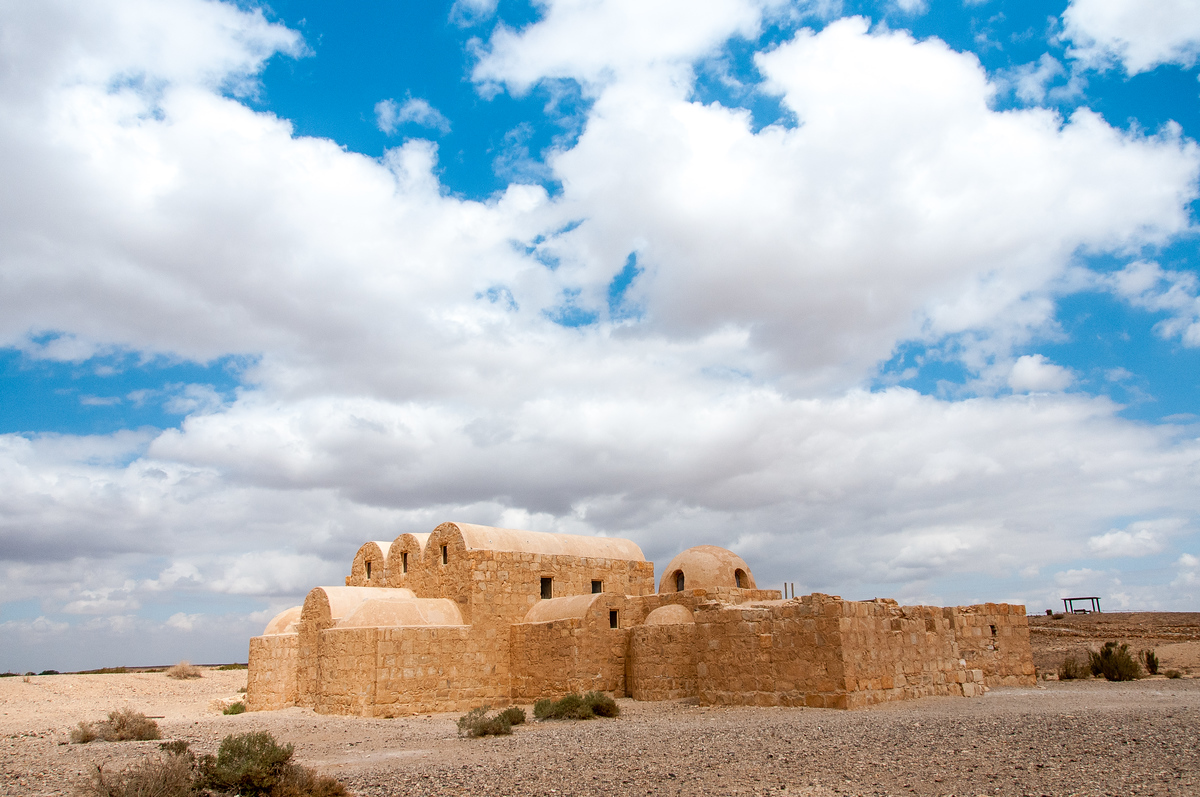 Desert Castle of Quseir Amra in Jordan