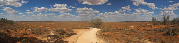 Mungo National Park Panorama