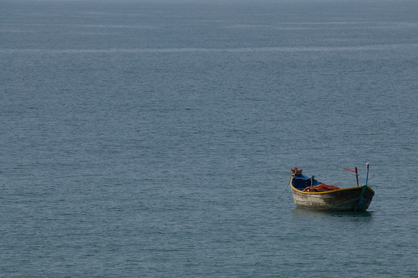 Boat in Water, Mui Ne, Vietnam